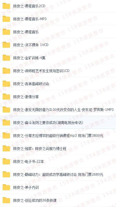 陈安之成功学全集3