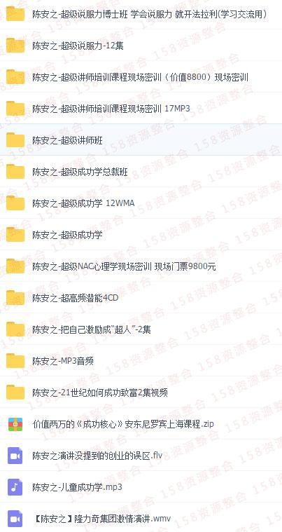 陈安之成功学全集5
