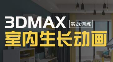 3DMAX室内生长动画教程视频