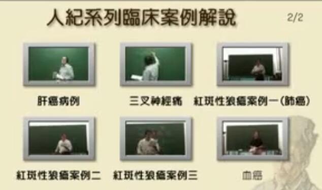 倪海厦《人纪-临床案例》目录