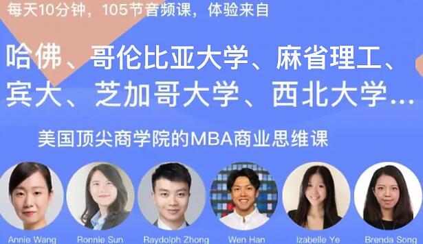 美国Magic 7商学院MBA商业思维课,105个案例