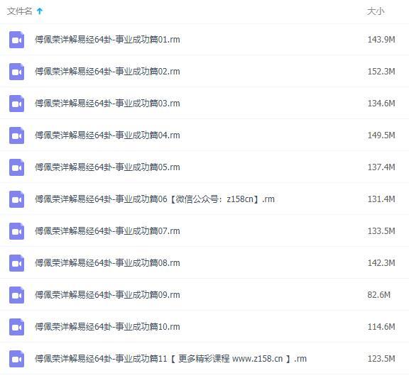 傅佩荣详解易经64卦之事业成功篇