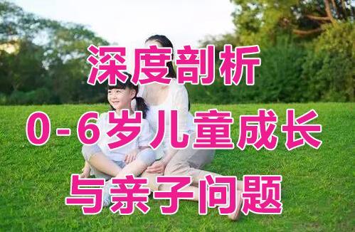 吴国宏《深度剖析0-6岁儿童成长与亲子问题》亲子教育视频讲座
