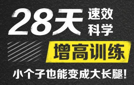 刘洹增高视频《28天速效科学增高训练》