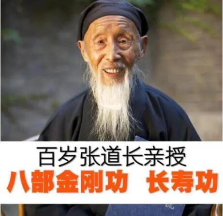 张至顺《八部金刚功长寿功》视频教学